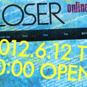 ONLINE STORE will open 12 June.