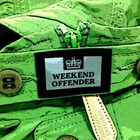 WEEKEND OFFENDER JKT & TEE in stock now!