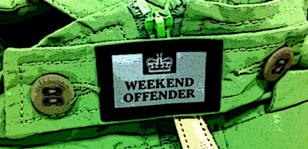 WEEKEND OFFENDER JKT &amp; TEE in stock now!