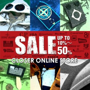 ONLINE STORE SALE on this weekend!