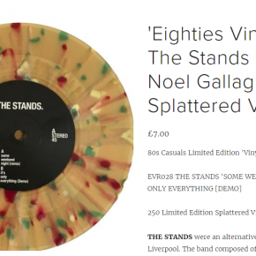 Eighties Vinyl Records The Stands feat: Noel Gallagher 7""